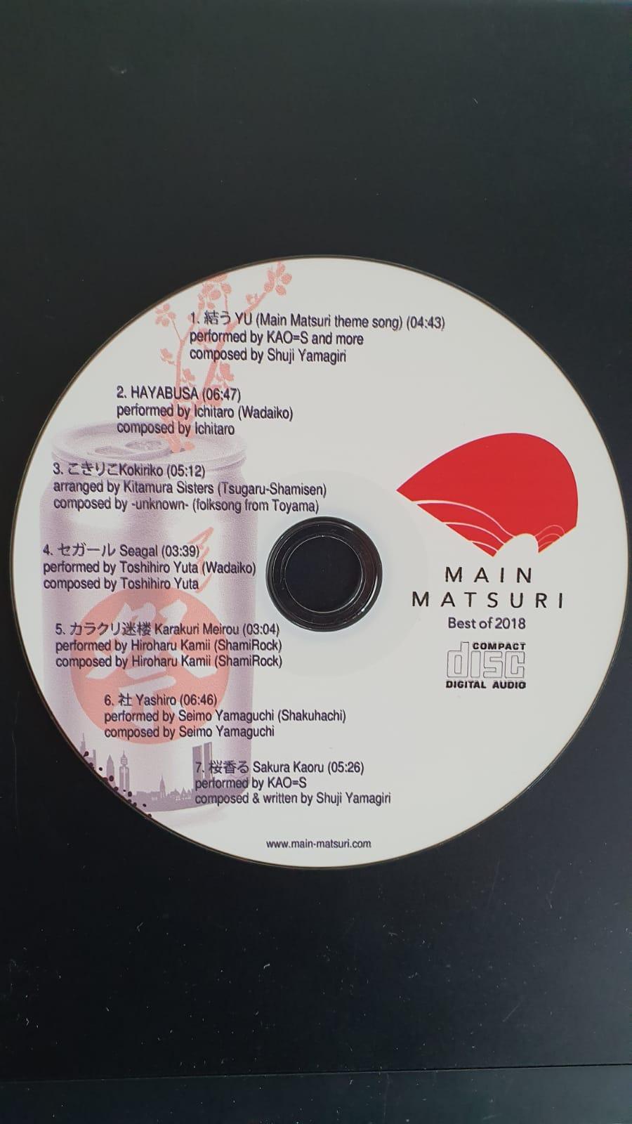 """Music """"Best of"""" Main Matsuri 2018"""